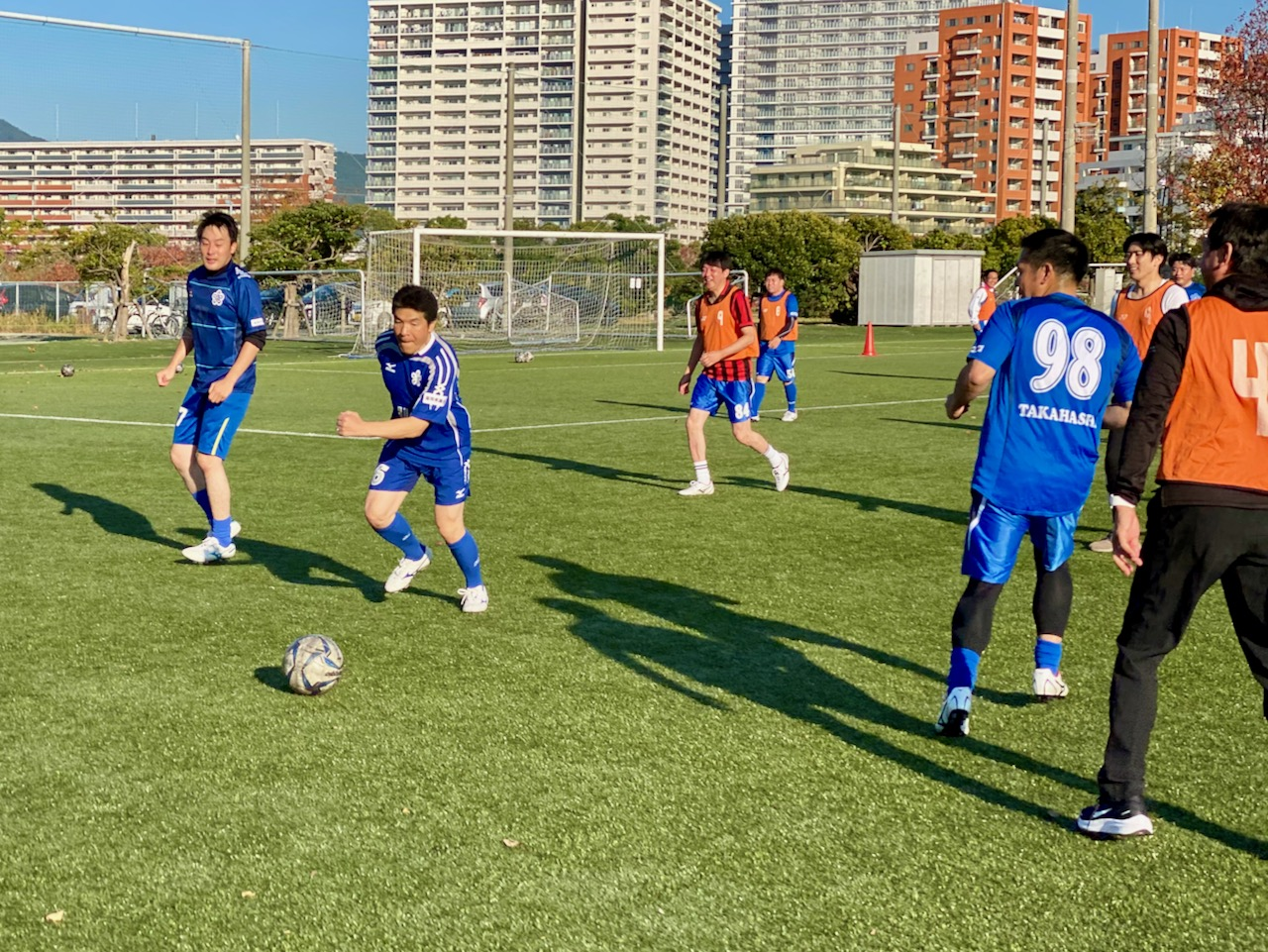 福岡県議会サッカー部 練習