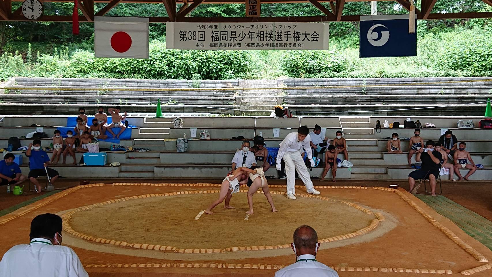 第38回福岡県少年相撲選手権大会